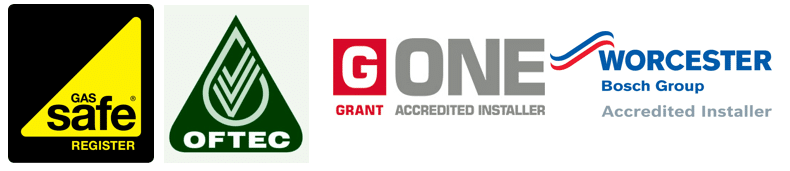 Gas Safe Oftec G One Worcester Accredited - Prestige Plumbing Services